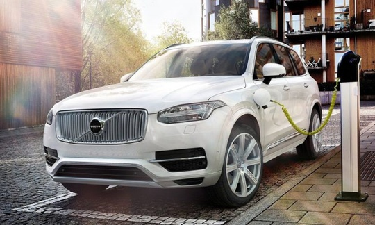 Volvo XC 90 II T8 - 407 hk Plug/Hybrid Inscription 7s - NY BIL