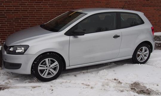 VW Polo V 1.2 - 60 hk 3 dørs