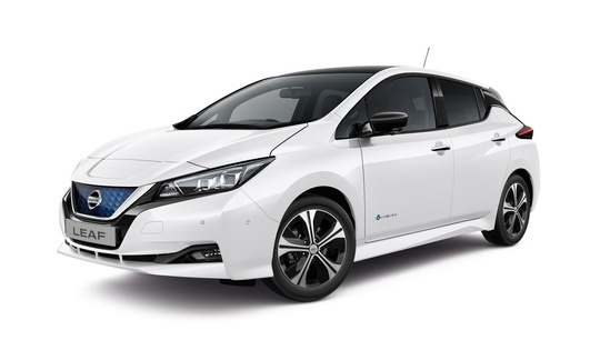 Nissan Leaf Tekna 40 kWh Leather ProPilot Park  2-tone DK