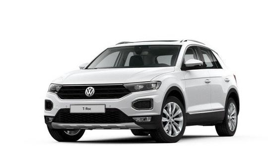 VW T-Roc TSi 2,0 4M Sport DSG