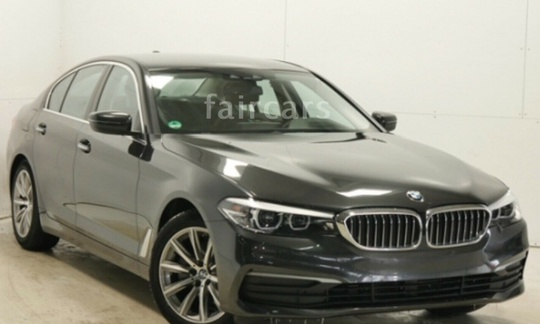 BMW 520 d - 190 hk EfficientDynamics Edition Steptronic Sedan