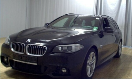 BMW 520 d - 190 hk Steptronic Touring - M-sportspakke