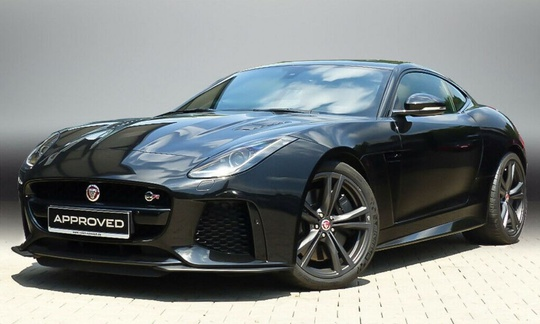 Jaguar F-Type Coupe SVR 5.0 V8 - 575 hk AWD Automatic