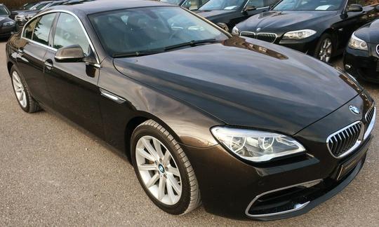 BMW 640 d - 313 hk xDrive Steptronic Gran Coupe