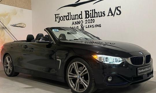BMW 430d 3,0 Cabriolet aut. 2d