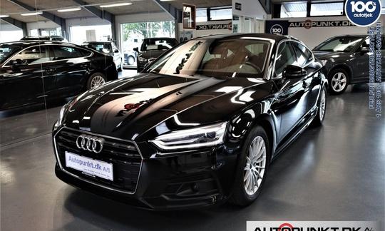 Audi A5 2,0 TFSi 190 Sportback S-tr. 5d