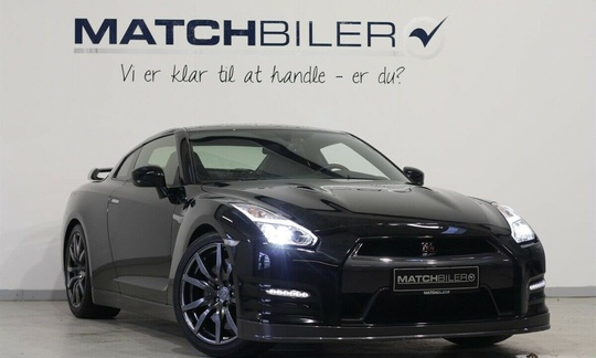 Nissan GT-R 3.8 V6 - 550 hk 4WD Automatic