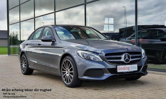 Mercedes C220 d 2,2 aut. 4d