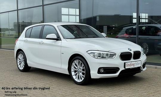 BMW 118d 2,0 Sport Line aut. 5d
